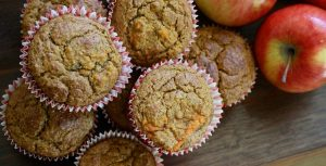 Apple Cinnamon Muffins (GF, Paleo, Refined Sugar-Free)