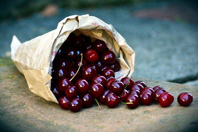 Teague's Chocolate Cherry Smoothie