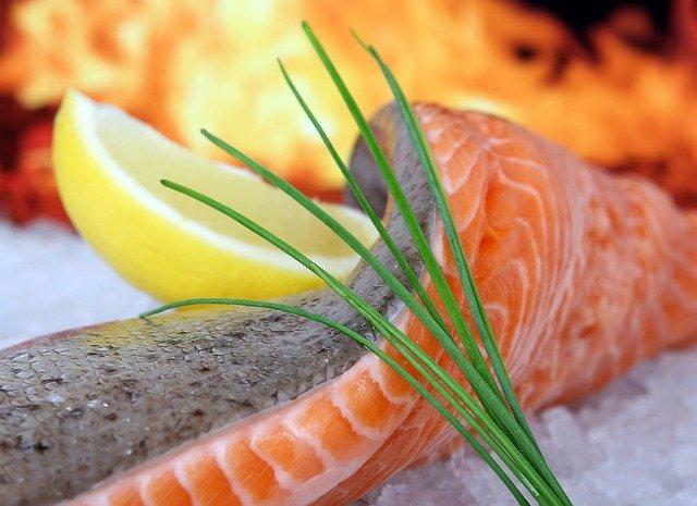 Salmon Filets with Mustard Crust